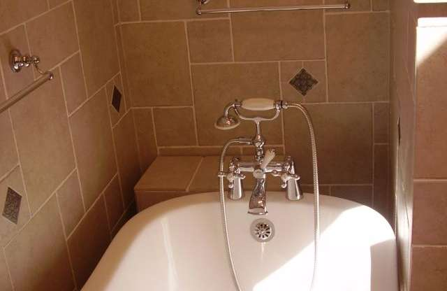 Bathroom Full Remodeling, Tina Vintage, Taps and Tiles