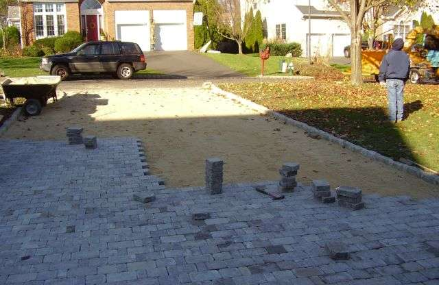Stone Brick Installation