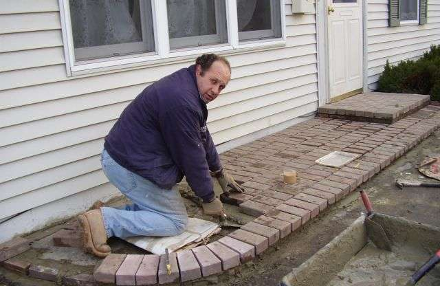 Stone Brick Installation in New Jersey