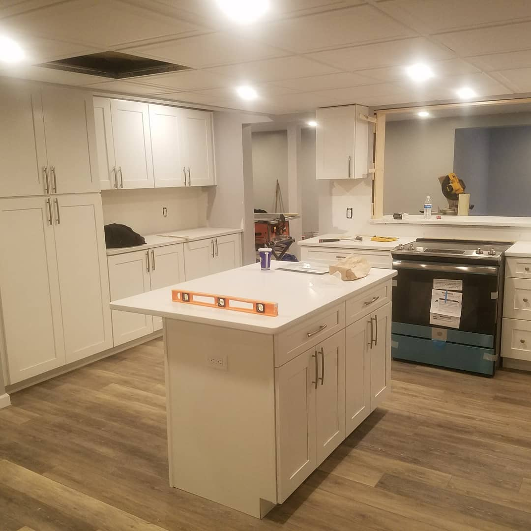 kitchen cabinets remodel in Morris County